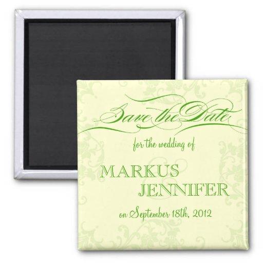Diy irish wedding save the date magnet zazzle for Diy save the date magnets template