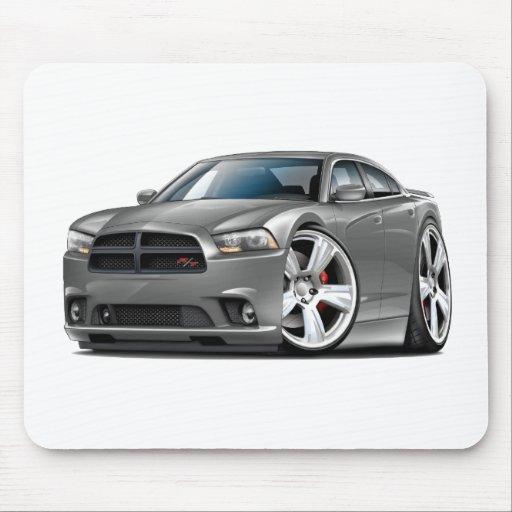 Grey Car: Dodge Charger RT Grey Car Mouse Pad