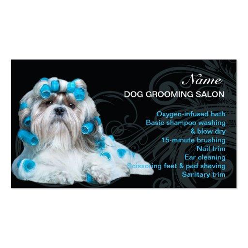 Dog Grooming Salon Business Card Zazzle