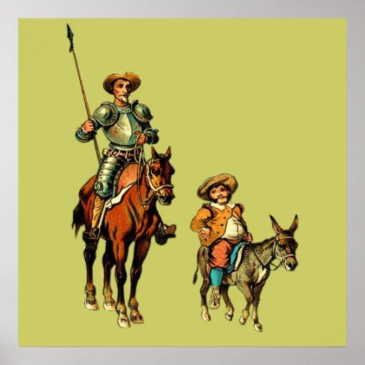 Don quixote comparison with sancho panza