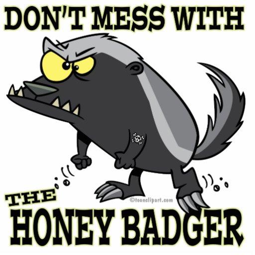 Cute Honey Badger Cartoon  Cute Honey Badg...