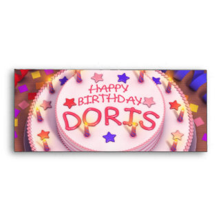 Happy Birthday Doris Cards, Happy Birthday Doris Card Templates ...