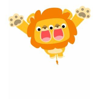Double Trouble cute cartoon lion children t-shirt shirt