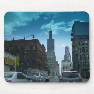 Downtown Chicago Mousepad mousepad