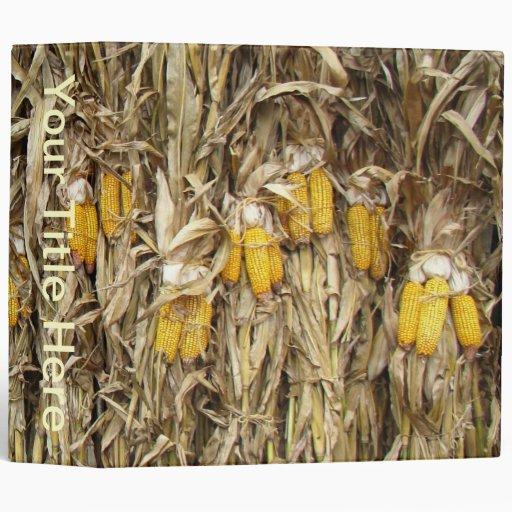 Corn Stalk Decoration Ideas: Dried Corn Stalk Decorations Binder
