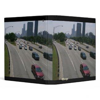 Drive Through Chicago Binder binder