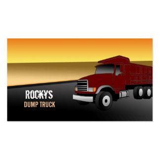 Sample business plan for dump truck