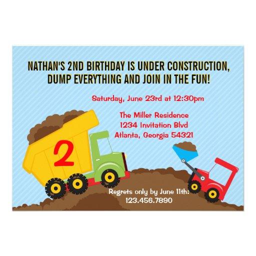 Personalized Builder Invitations
