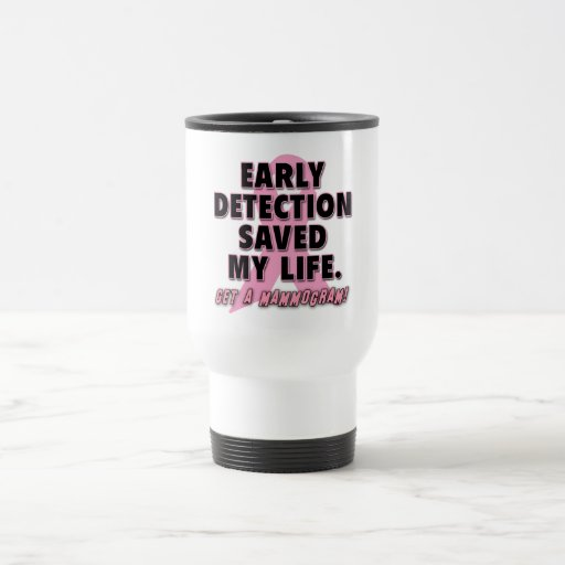 Breast Cancer Awareness Coffee Travel Mugs