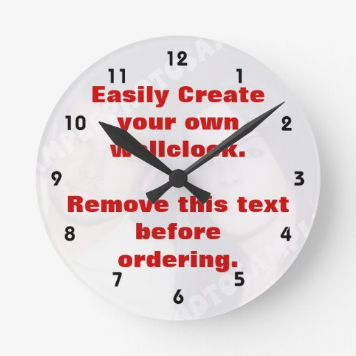 Make Your Own Clock: Easily Create Your Own Custom Wall Clock