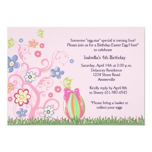 easter birthday party invitations koni polycode co