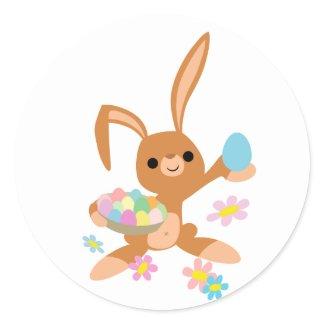Easter Bunny sticker sticker