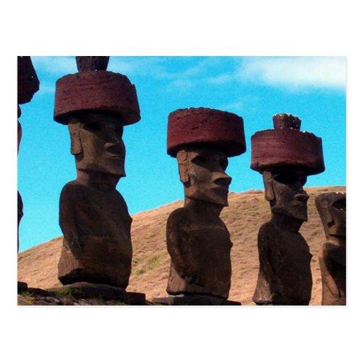 Easter Island Heads Talking