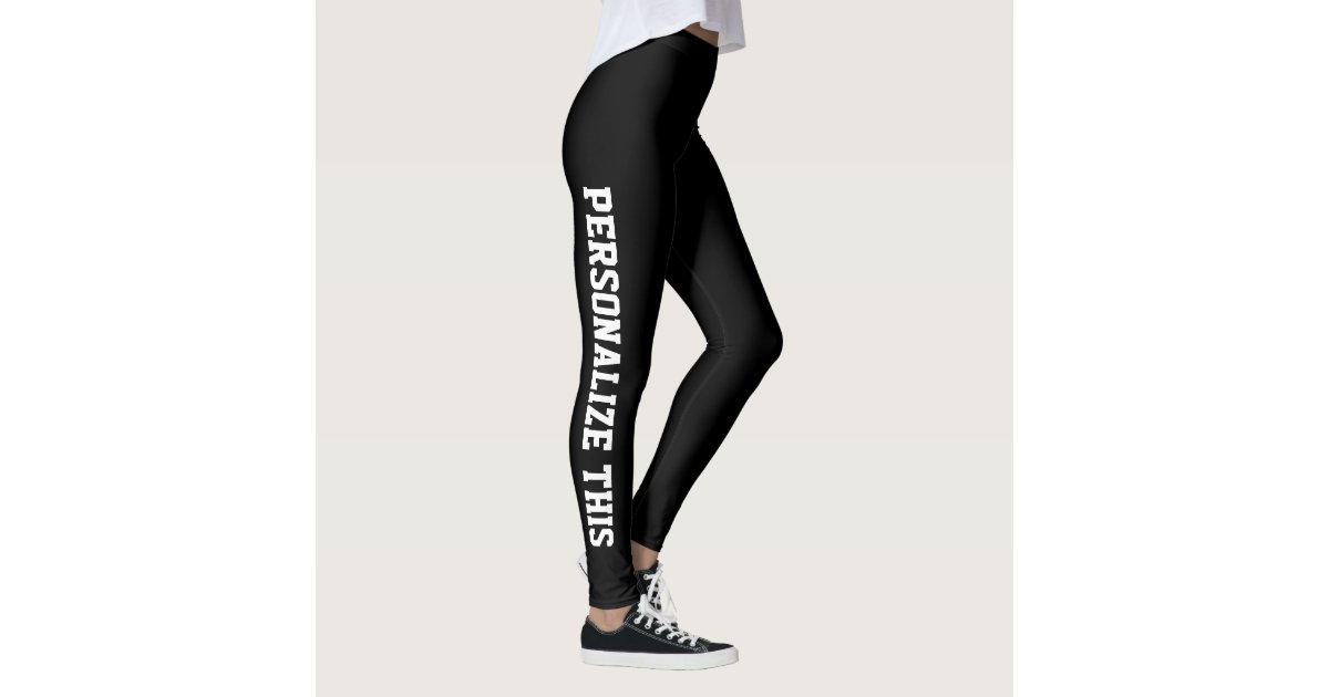 Easy To Design Your Own Personalized Custom Made Leggings