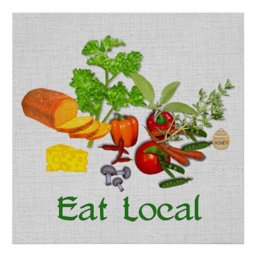 eat local poster - photo #10