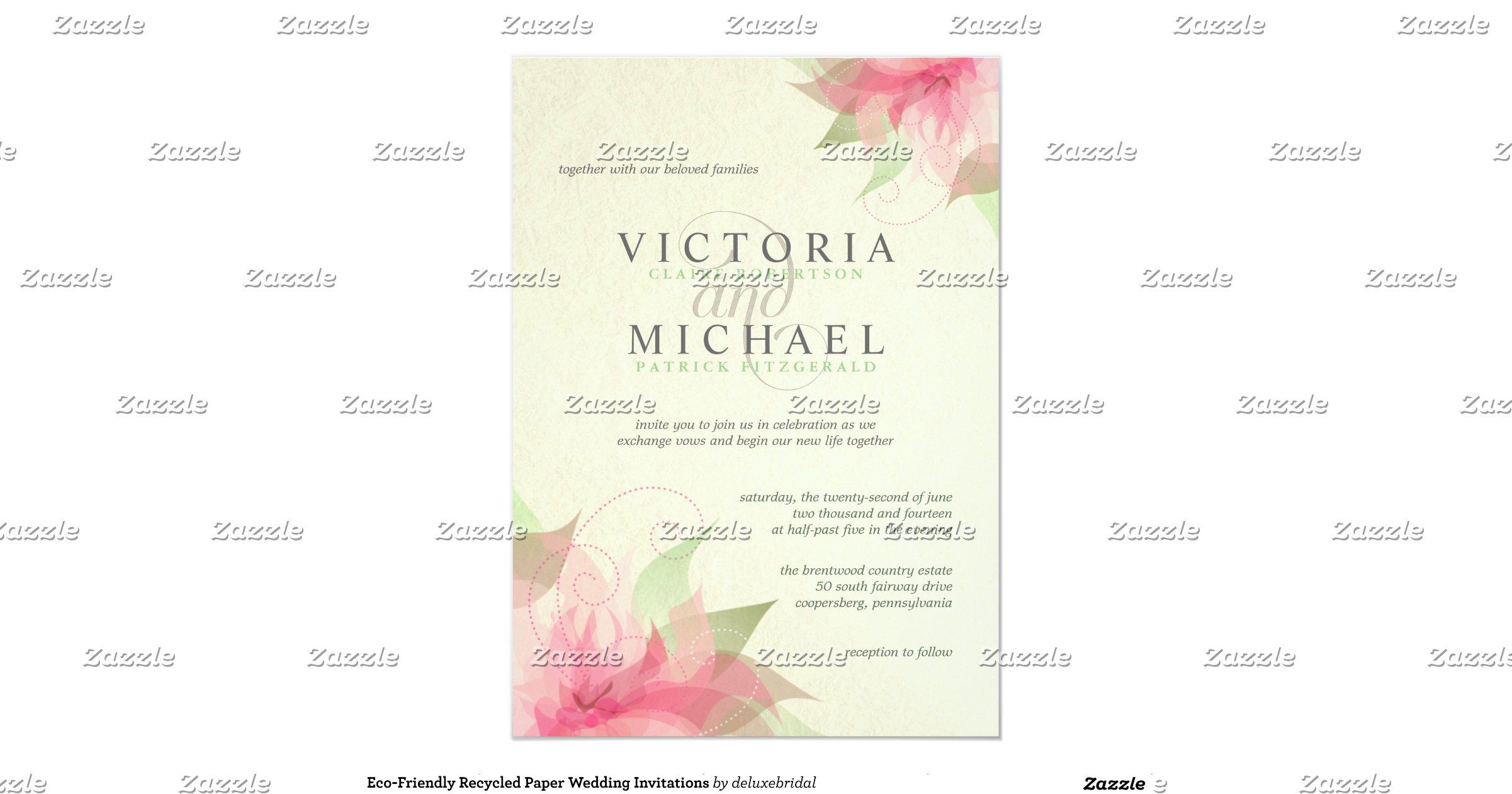 Environmentally Friendly Wedding Invitations: Eco_friendly_recycled_paper_wedding_invitations