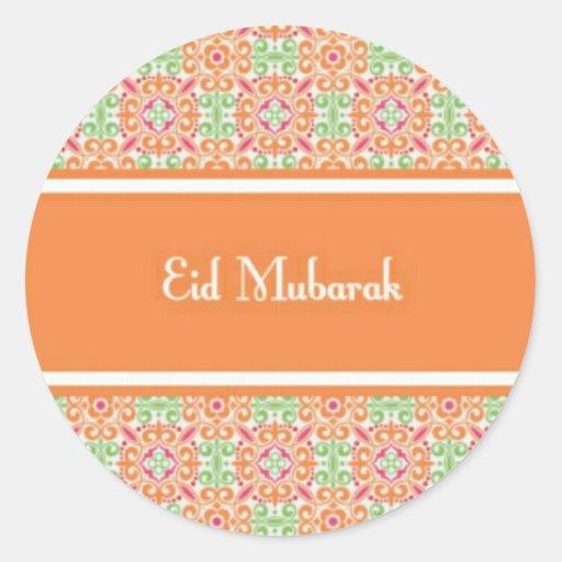 Eid Mubarak.jpg Classic Round Sticker