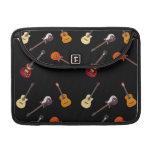 rustic guitar macbook pro sleeve zazzle. Black Bedroom Furniture Sets. Home Design Ideas