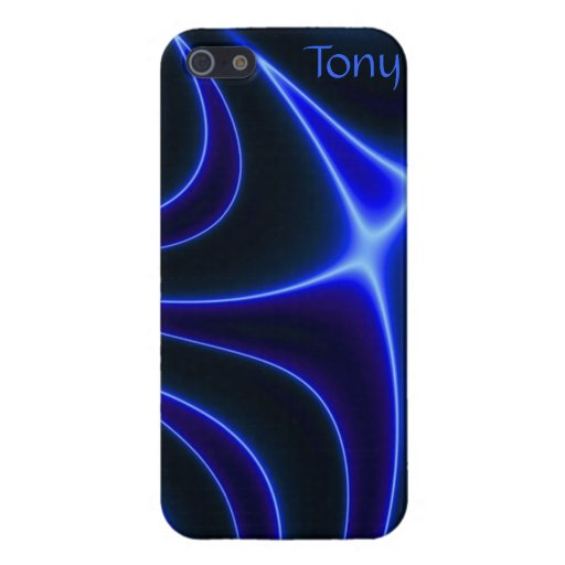 Electric Cobalt Blue Abstract IPhone 5 Case