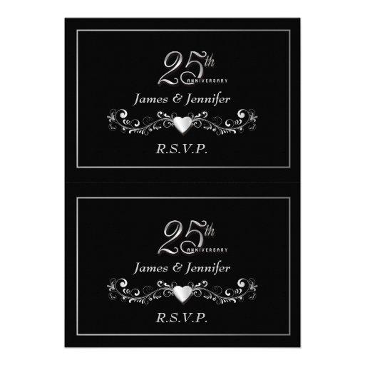 Elegant 25th Anniversary Party