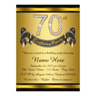 70th Birthday Party Theme