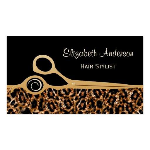 Hair Stylist Business Card Templates