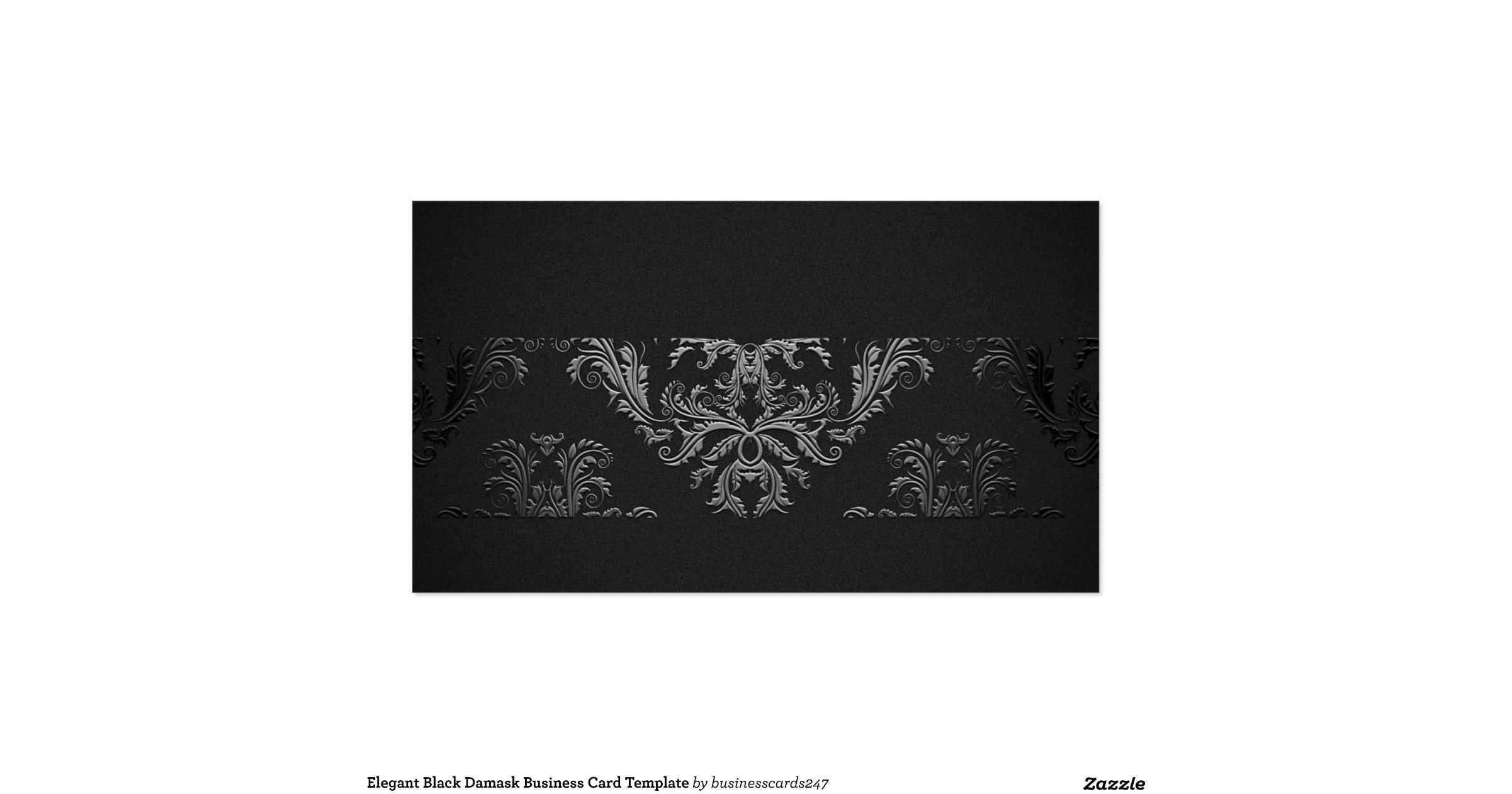 black damask art business - photo #40