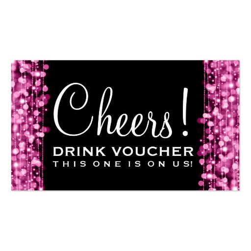 310 drink voucher business cards and drink voucher for Drink token template