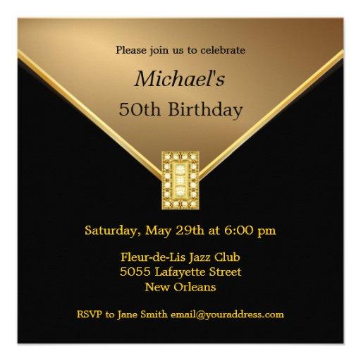Personalized Elegant 21st Birthday Invitations