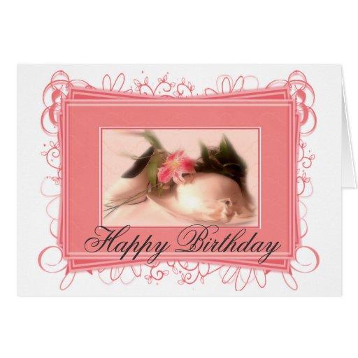 Elegant Ladies Hat/Shoe Happy Birthday Card
