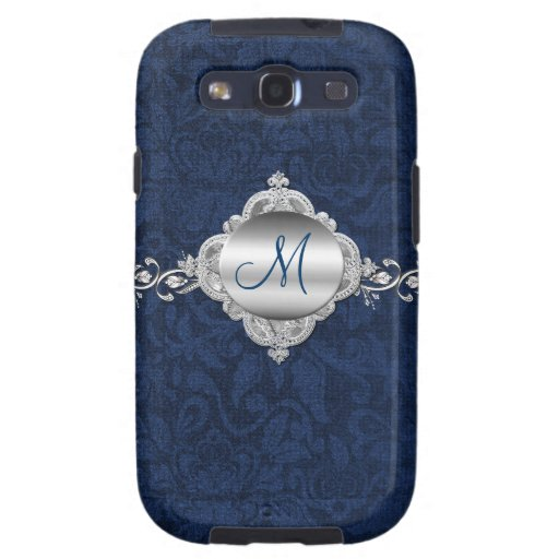Elegant Monogram Samsung Galaxy S3 Phone Case | Zazzle