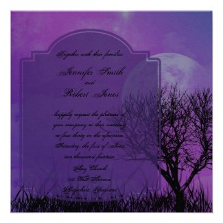Medieval And Gothic Theme Wedding Invitations Unique And Special