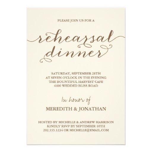 Most Popular Rehearsal Dinner Invitations