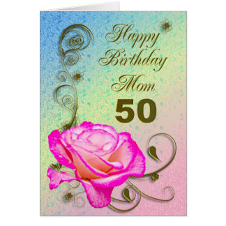 50th Birthday Cards For Mum