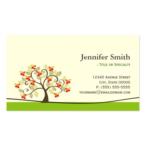 Social Worker Business Card Templates