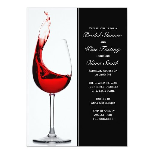 Most Por Wine Party Invitations