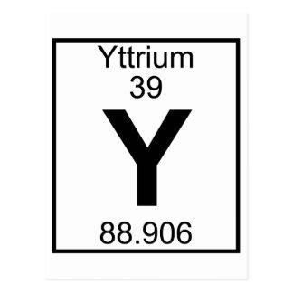Yttrium Cards, Yttrium Card Templates, Postage ...