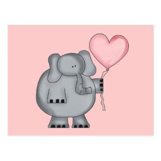 Elephant Valentine Cards | Zazzle