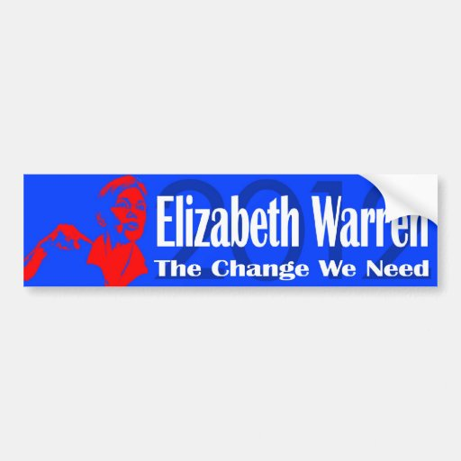 Elizabeth warren sticker persist
