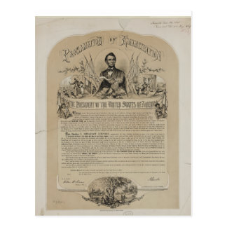 Emancipation proclamation or the bittersweet truth