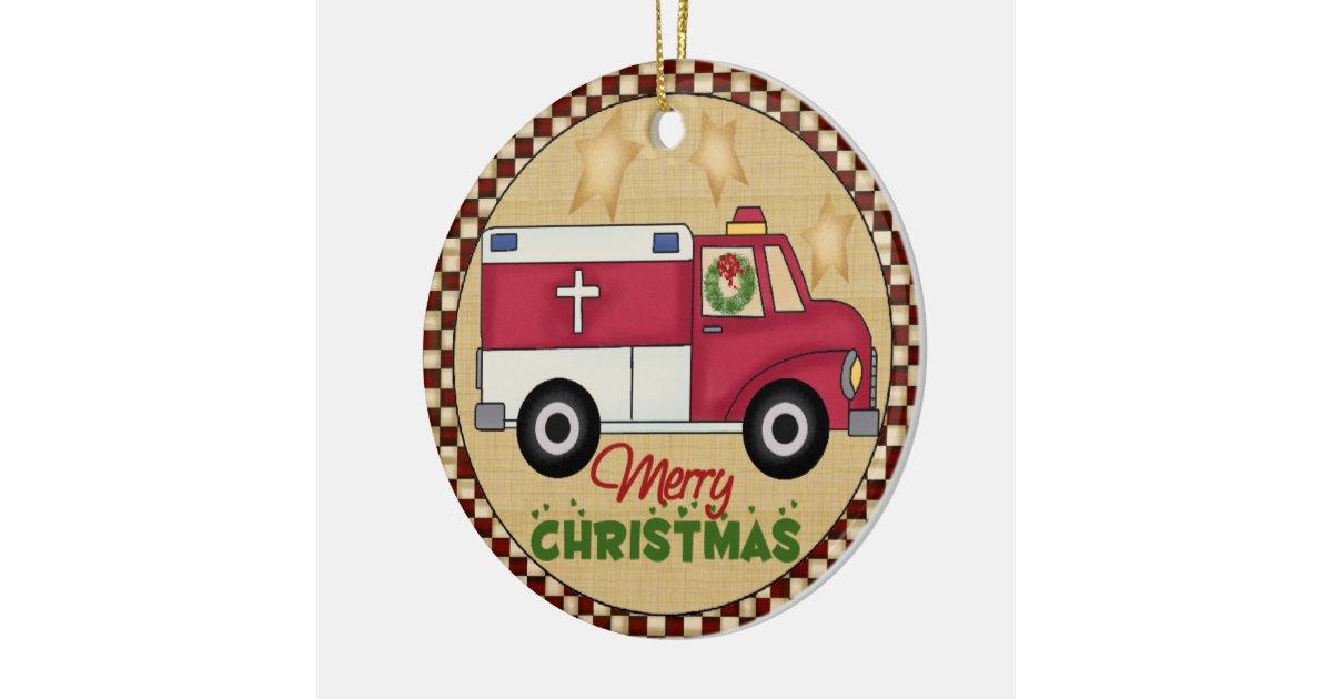 EMT Christmas Ornament | Zazzle