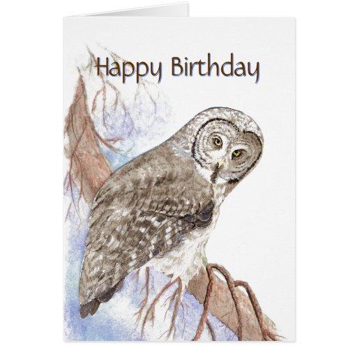 Bird Birthday Cards
