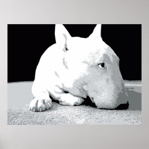 Coca Cola Gifts >> English Bull Terrier, Pop Art Print | Zazzle