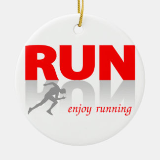 Pewter Running Shoe Ornament