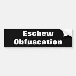 Eschew Obfuscation Gifts on Zazzle