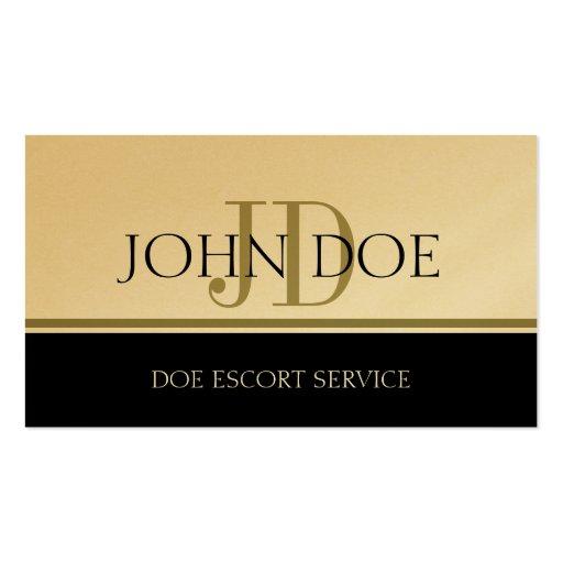 Business escort plan service