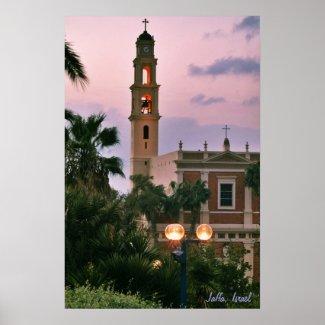 Evening Jaffa Poster