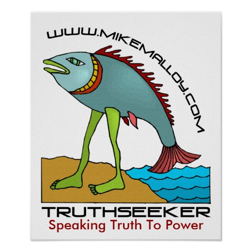 EVOLUTIONIST TRUTHSEEKERS POSTER | Zazzle