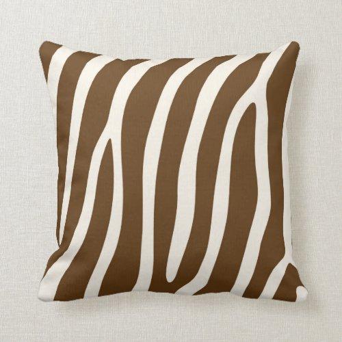 Enjoyable Brown Zebra Throw Pillows Brown Zebra Throw Pillows Uwap Interior Chair Design Uwaporg