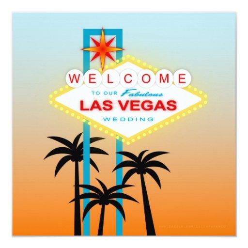 Las Vegas Wedding Invitation Wording: Fabulous Las Vegas Wedding Invitation
